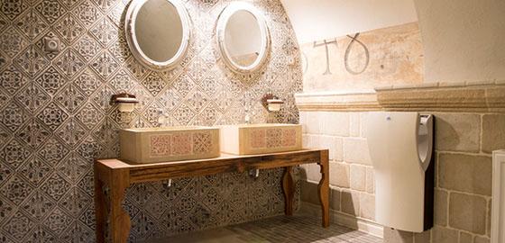 A fürdőszobáról… kő szempontból!