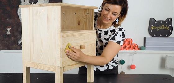 DIY barkács munkaállomás lépésről lépésre Csorba Anitával