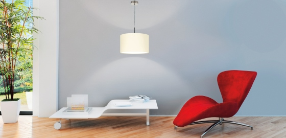 Elegancia és otthonosság az Eglo textil lámpáival