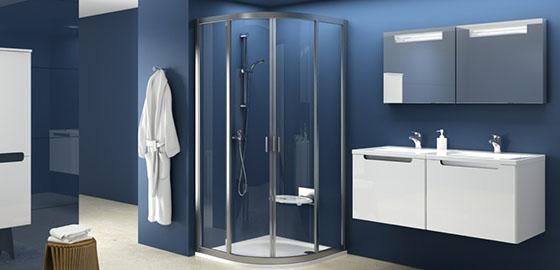 Ez a zuhanykabin a fürdőszoba csillaga