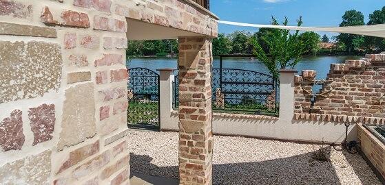 Kerítés, támfal fedése – természetesen Otti kövekkel!