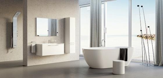 Milyen legyen a fürdőszoba egy városi loft lakásban?
