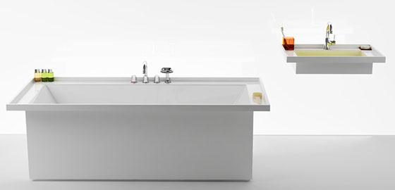 Minimalista harmónia a fürdőszobában
