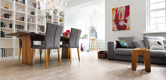A lakás egészséges padlója