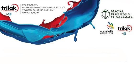 A festő szakmát is képviselik az Euroskills 2018 versenyen