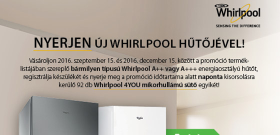 Whirlpool promóció
