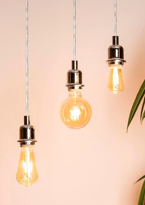 Vintage retro lámpa