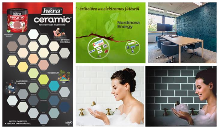 """2021.11.25 – Muratto – természetes felületek – Trilak mosható beltéri falfestékek – Nordinova elektromos fűtőmegoldások – weberNeon: """"Fényt hozunk az éjszakába"""""""