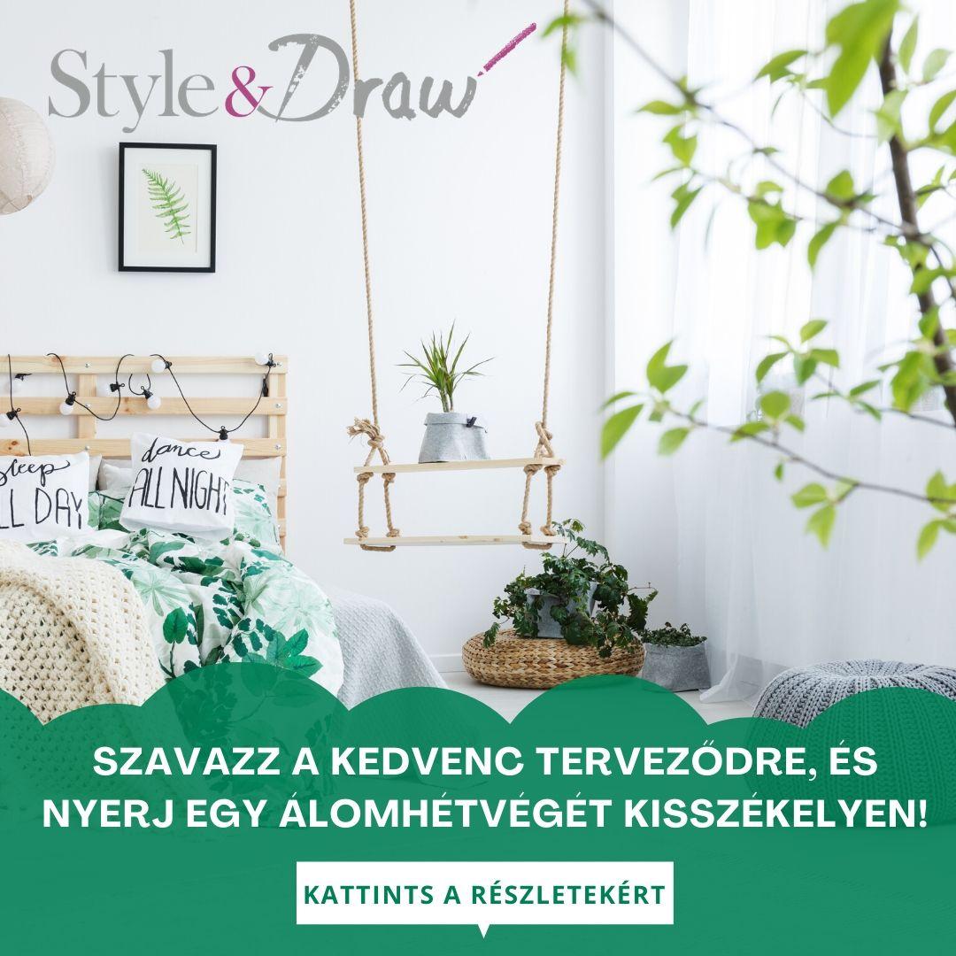 Style&Draw enteriőrtervezési pályázat Közönségszavazás