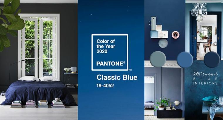 2020 – az év színe: a klasszikus kék az otthonunkban