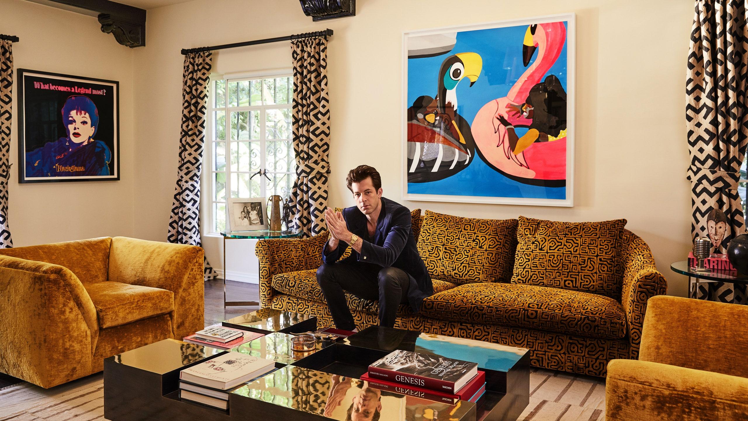 Hollywoodi stílus a maximumon – Az Oscar-díjas Mark Ronson hollywoodi otthona