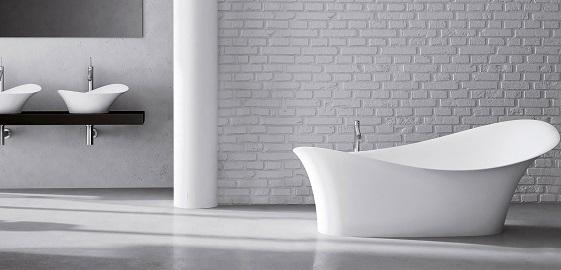 5 érv a masszív, higiénikus öntöttmárvány mosdók és kádak mellett