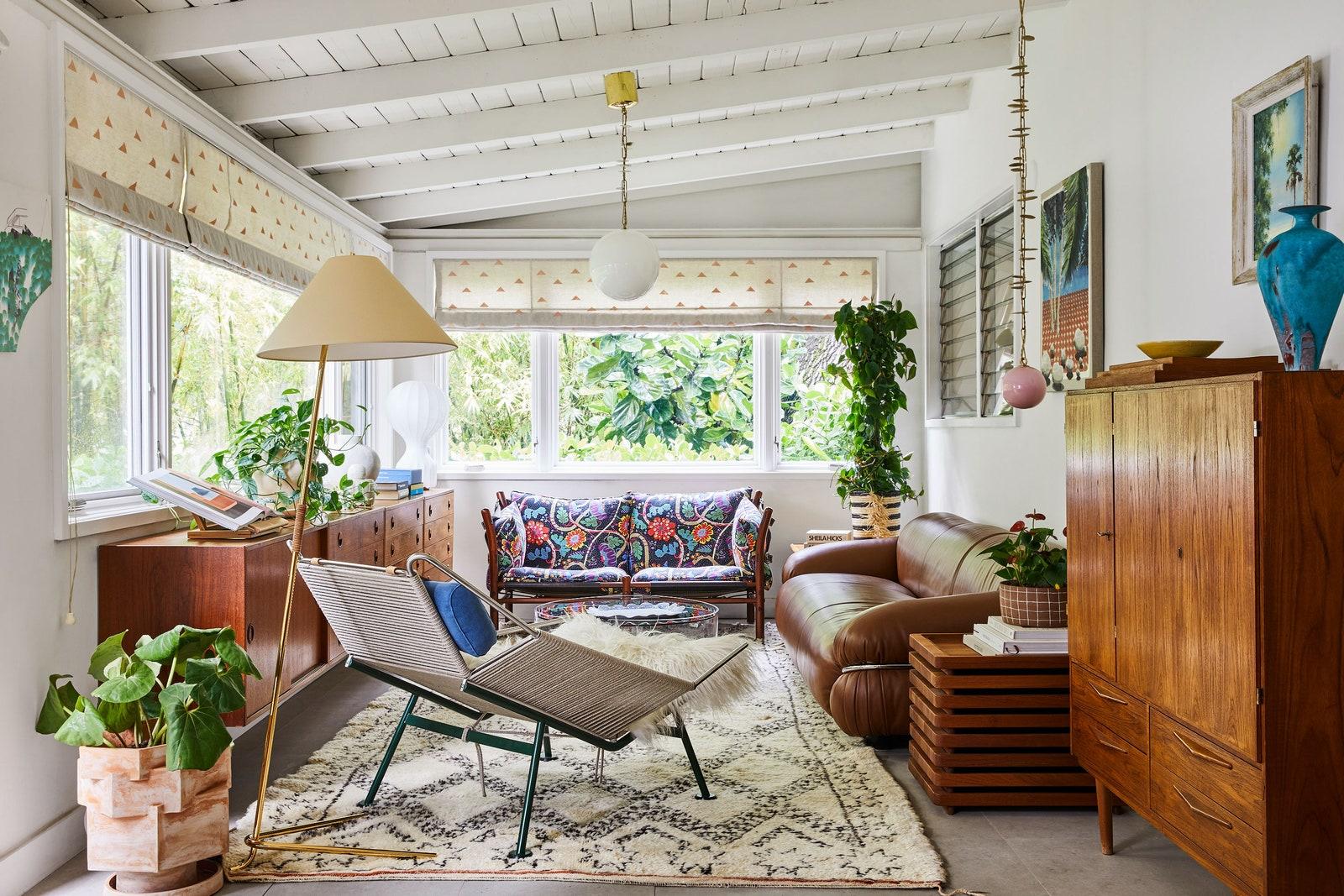 Színek és minták kavalkádja – nézz be egy varázslatos miami házba!