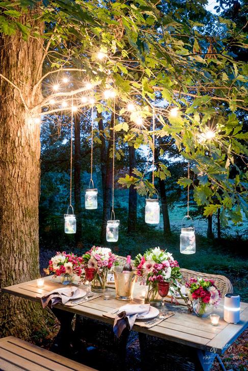 Inspiráció a kerti világításhoz