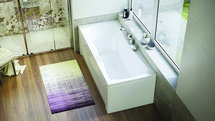 Közös fürdőzés? Tegye kényelmesebbé középlefolyós káddal