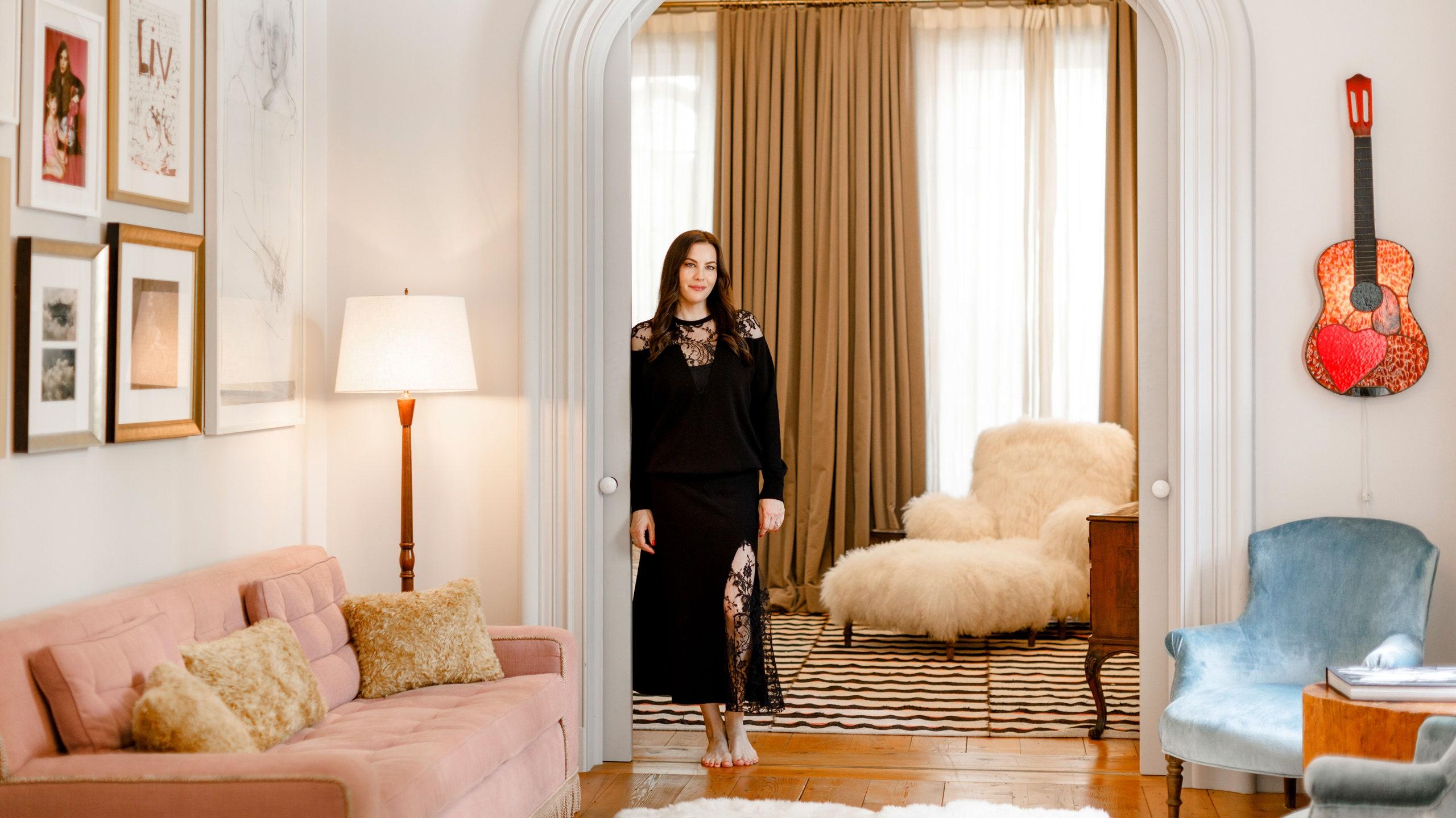 Francia stílus Manhattanben – Liv Tyler New York-i otthona