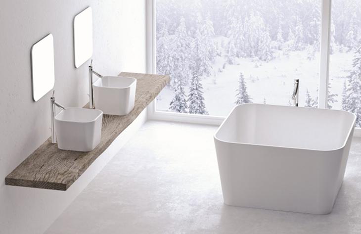 Meghitt, téli hangulatú fürdőszobát szeretne?