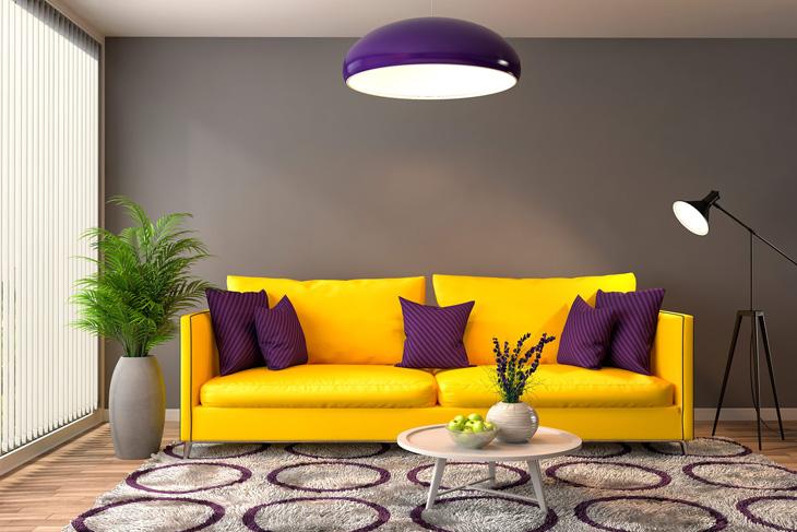 6 ragyogó tipp a lehangoló szürkeség ellen: vigyünk színeket, fényeket az otthonunkba!
