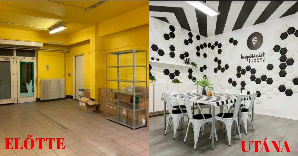 Lepukkant boltból inspiráló élménystúdió – Nézd meg az átalakulást!