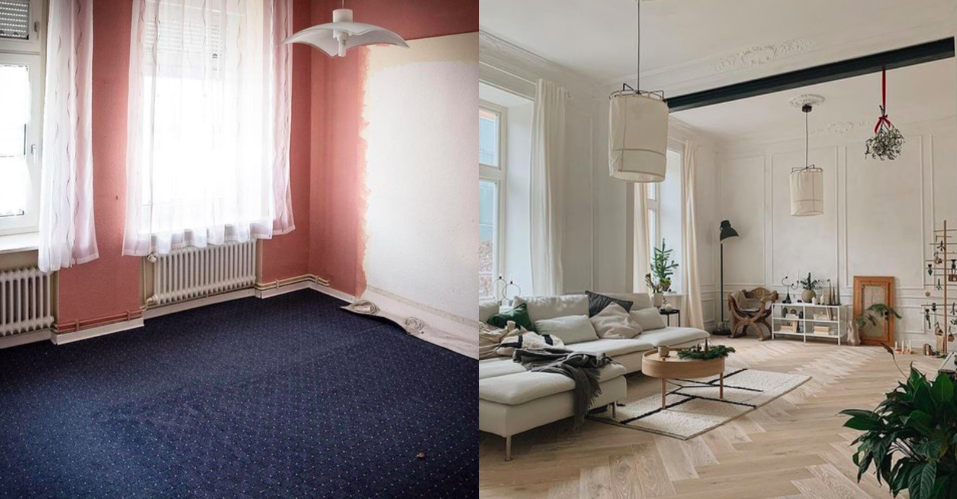 Így lesz a régi, elavult lakásból gyönyörű álomotthon!