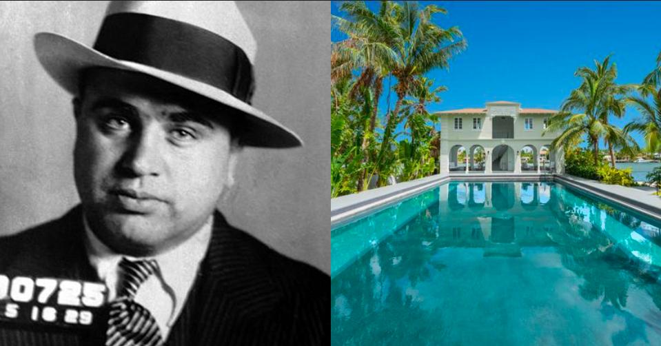 Itt élt Al Capone – Nézd meg a gengszter elképesztő miami luxusvilláját!