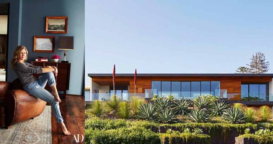 Teljesen szerelembe estünk Jennifer Aniston csodás kaliforniai házával!