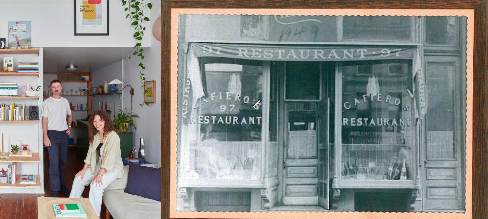 Így lett Marilyn Monroe kedvenc olasz étterméből vidám, eklektikus lakás!