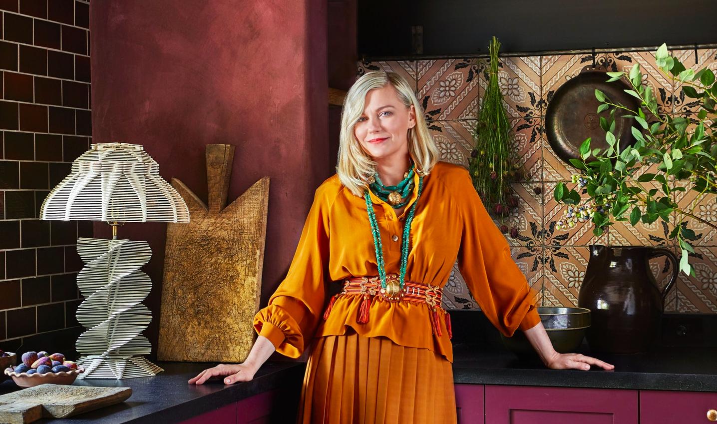 Fülig szerelmesek lettünk Kirsten Dunst káprázatos kaliforniai otthonába!