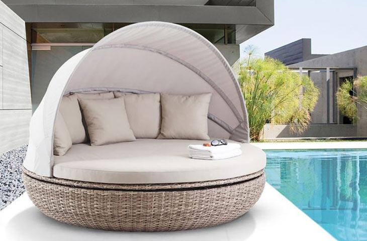 A terasz az új pihenőhely
