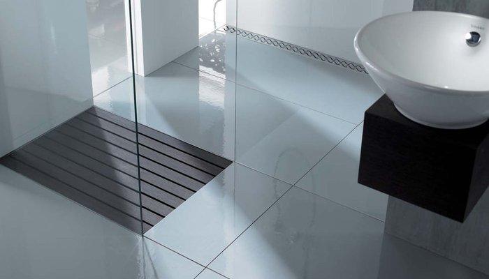 Az épített zuhanykabinok vízelvezetési lehetőségei – 2.