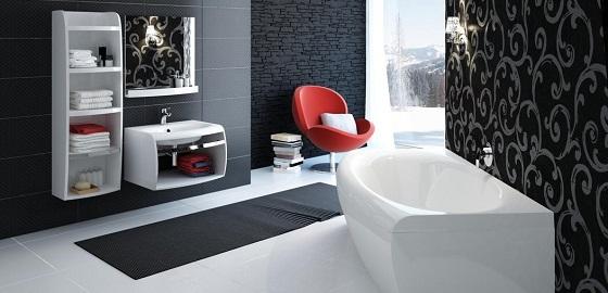 Egységes és impozáns fürdőszoba könnyedén