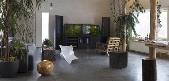 Loft kenhető beton 2 milliméter vastagságban – padlóra, falra és bútorra