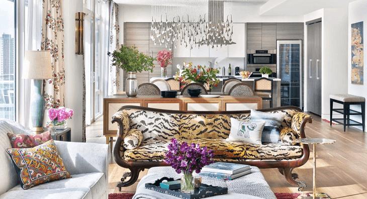 New York-i eklektika – egy fiatalos, fenntartható penthouse