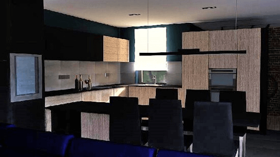 Otthonos és modern: luxuslakás egyedi igényekre szabva