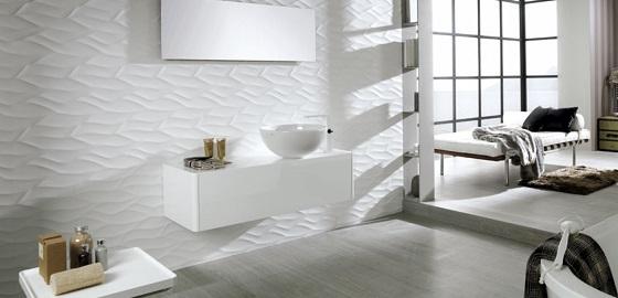 Ragyogó, hófehér fürdőszobák – a monokróm trend jegyében