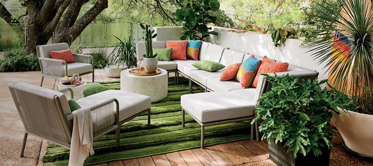 Így lesz stílusos kerti nappalid!