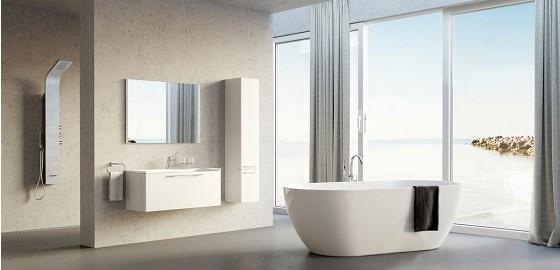Tágas fürdőszobák, ahol szárnyalhat a fantáziánk