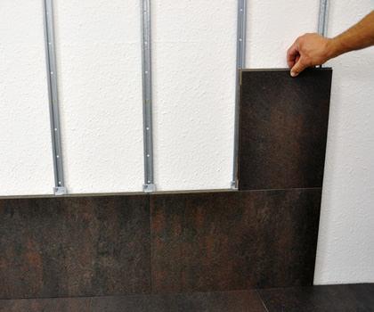Tervezők extra lehetősége a falra burkolt padló?