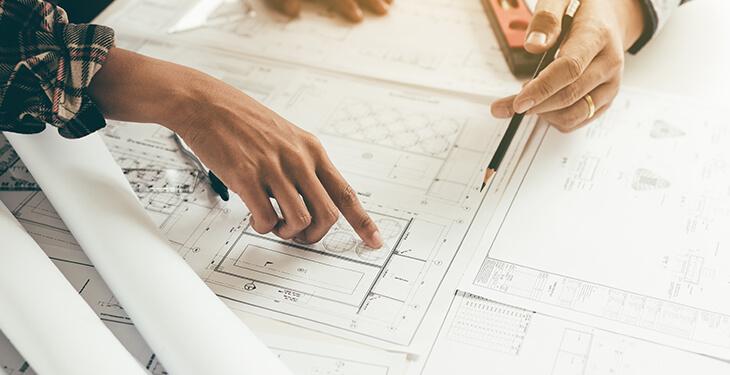 Építés, tervezés és fenntartás